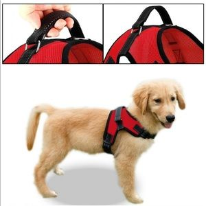 Reflective Adjustable Dog Harness with Handle